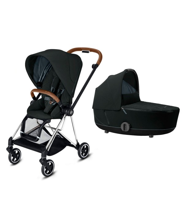 Cybex DUO Mios Chrome Brown/Chrome