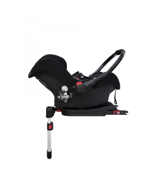 Stomp V3 Trio con base Isofix Black Brown de Ickle Bubba Black