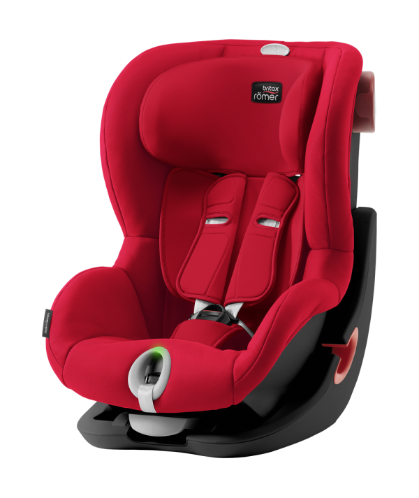 KING II LS en color Red Flame de Britax Römer