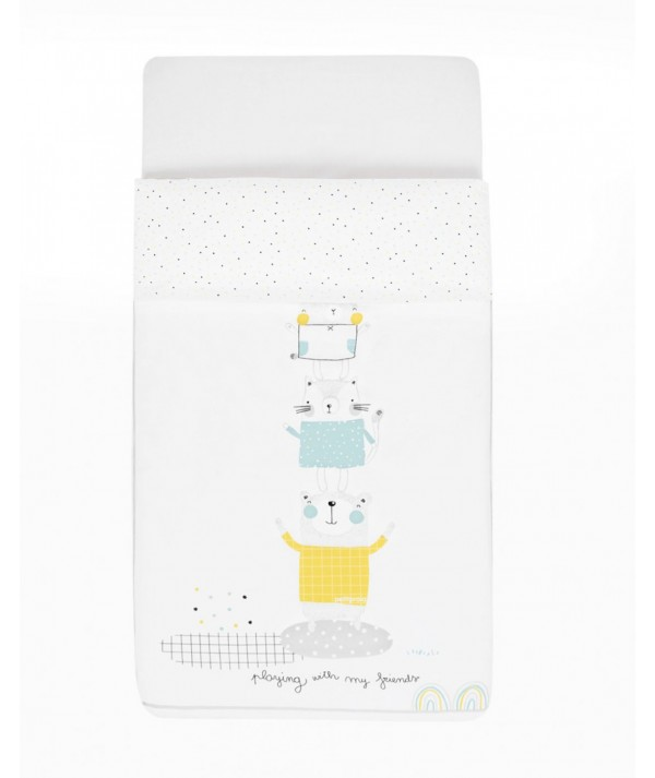Colcha + Protector Cuna 60cm Party
